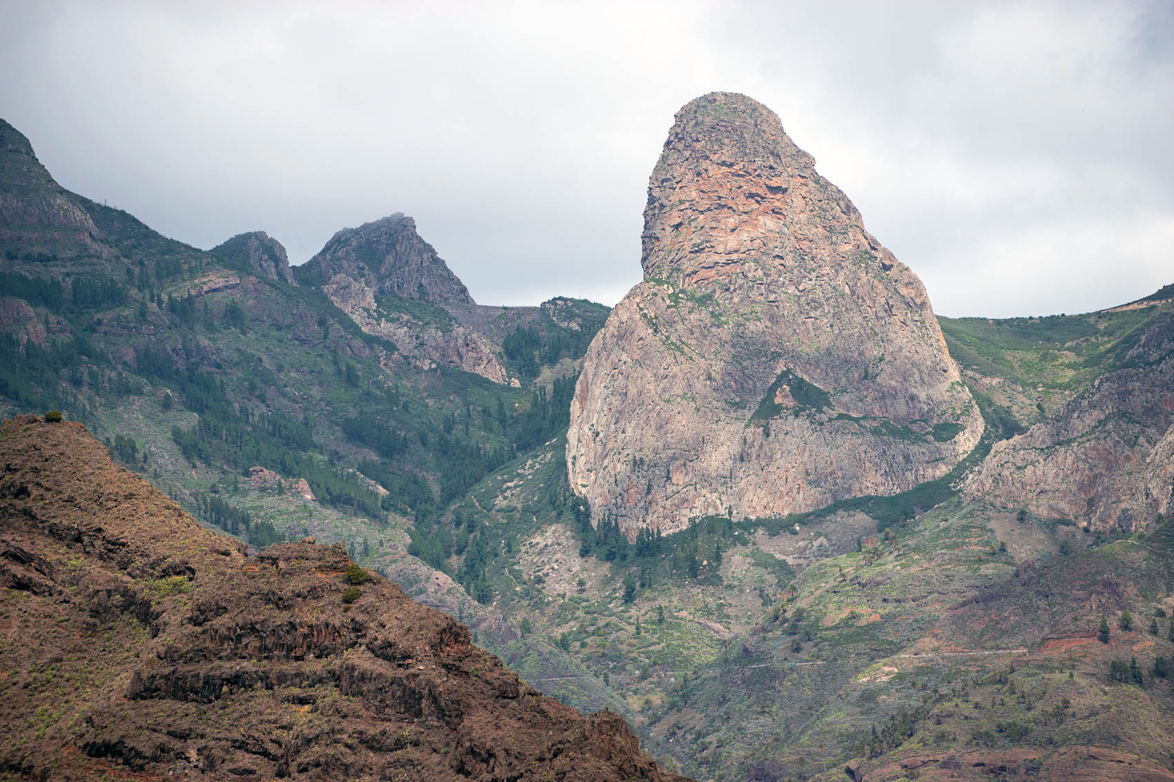 Imada Schlucht Wanderung auf La Gomera