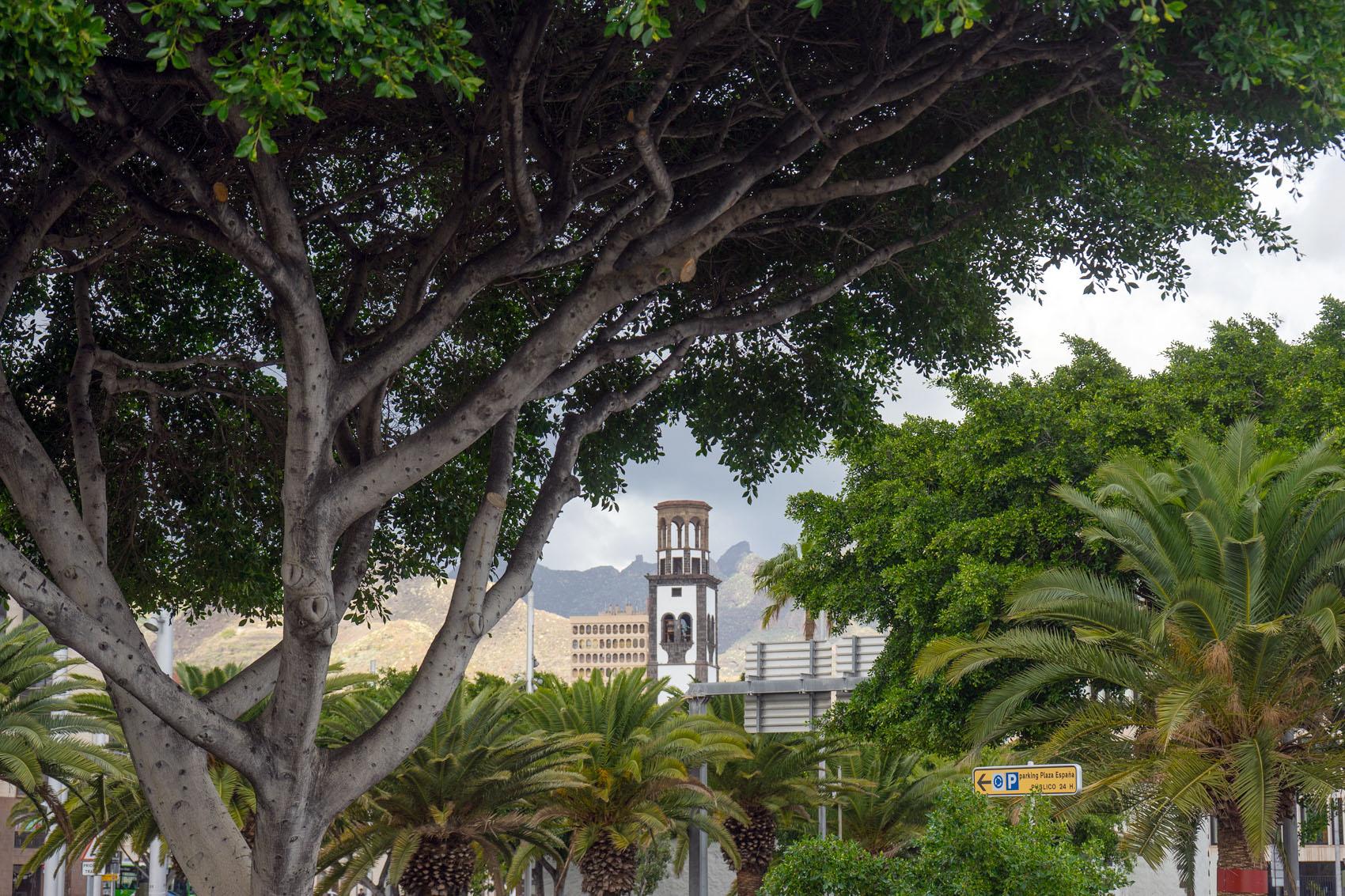 Kirchturm Santa Cruz Teneriffa