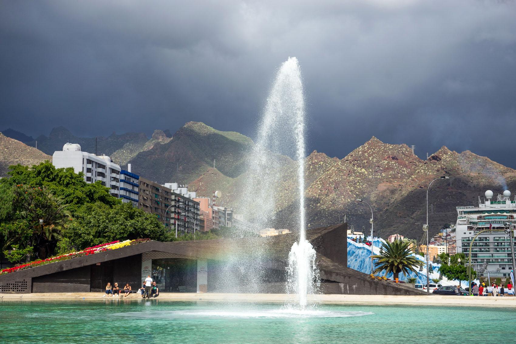 Plaza de España Santa Cruz Teneriffa Insel